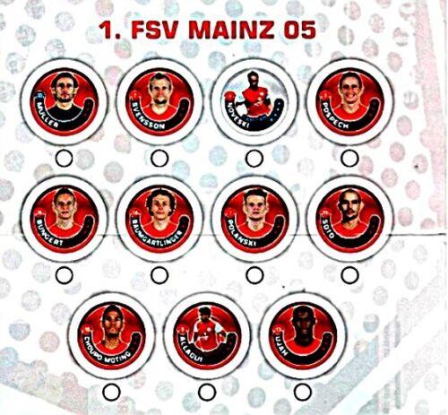 FSV Mayence 05-pour sélectionner Topps championnat Chipz 2011//12-1