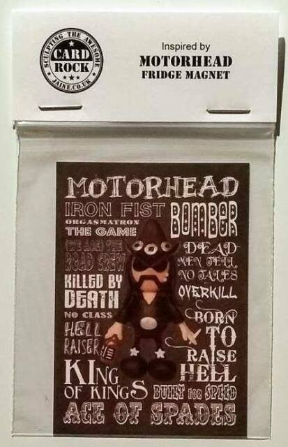Inspired by Motorhead Lemmy Fridge Magnet