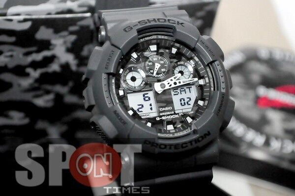 f48768fd80b2 Casio Mens G-shock Watch Ga-100cf-8a Ga100cf for sale online | eBay