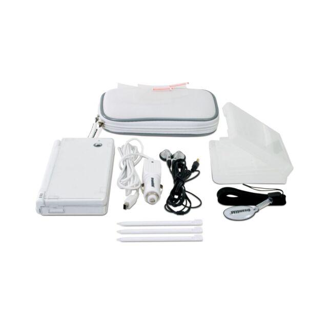 Nintendo DSi Accessories dreamGEAR 10 in 1 Starter Kit White NIP
