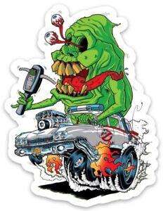 Rat Fink Rat Man Magnet Hot Rod Rat Rod Hotrod Drag Race Dragster Muscle Car