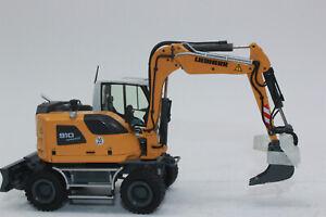 NZG 1000 Liebherr a 910 Compact excavadoras con cuchara agarrador Bauma 2019 1:50 nuevo
