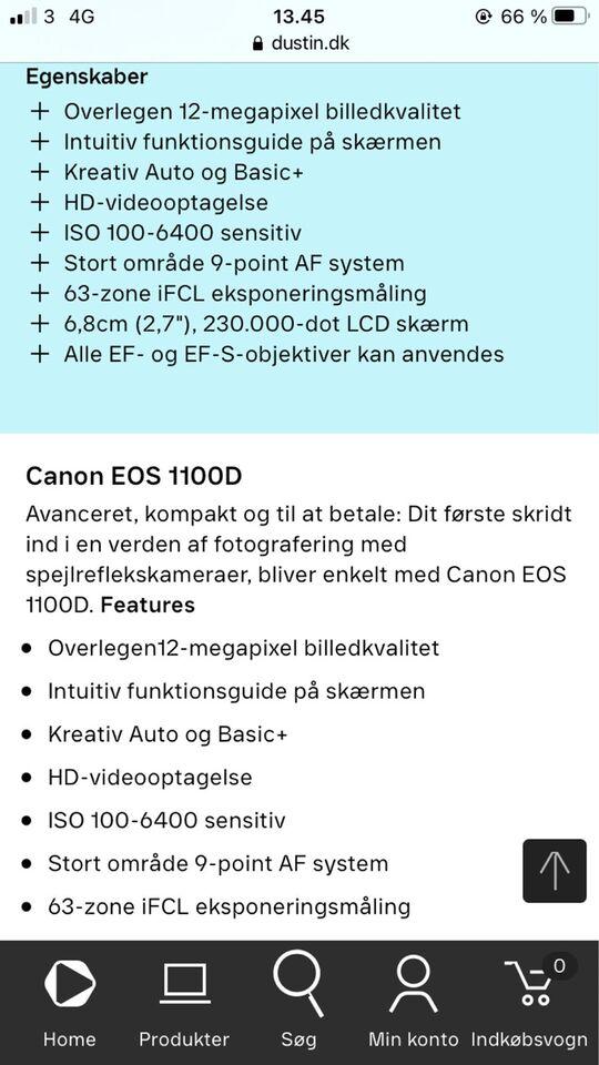 Canon, Canon + Sigma, spejlrefleks