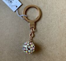 Kate Spade Lady Marmalade Rose Gold Key Chain Ring Fob Bag Charm Kru0286
