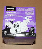 Halloween Ghost Foam Mosaic Kit 190pc By Creatology 6+ 41u
