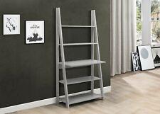 51df485d28ff Birlea Dayton Scandinavian Retro Ladder Bookcase Desk Shelving Shelf Unit  Grey