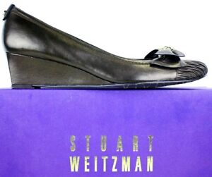 Pumps Scarpe scaglie N tacco in con di Weitzman Taglia metallo Ss2 metallo Stuart scaglie con 10 q6x1pw5