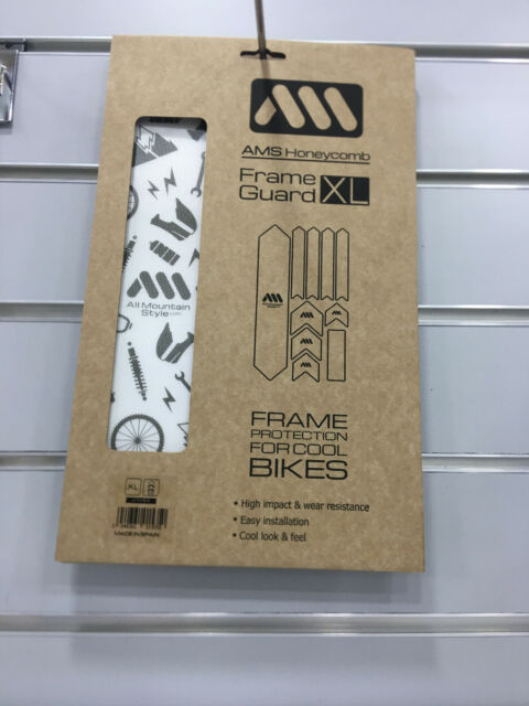 All Mountain Style AMSFG2CLSV Honeycomb High Impact Frame Guard XL Protects