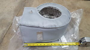 Details about BIG GRAY TURBO HEAT SHIELD COVER SEMI SLED TRACTOR PULL  190MC1006 CP1R4T1C