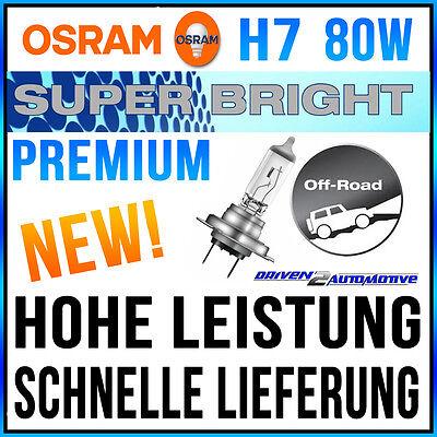1x OSRAM H7 OFFROAD 80W GLÜHLAMPE FORD TRANSIT CUSTOM Kombi 2.2 TDCi 12.12-