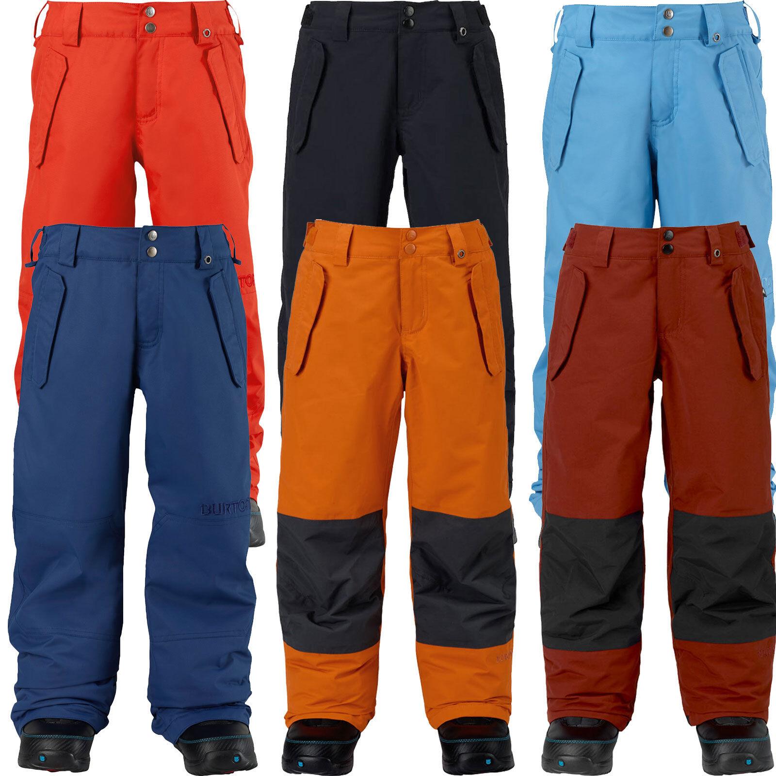 Burton Boys Parkway Snow Pant Kinder-Snowboardhose Skihose blue Schneehose NEU