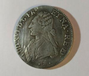 Louis-XVI-1776-Desc-1-Ecu