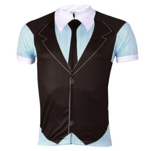 British Gentleman Cycling Jerseys Bike Clothing Bicycle Short Sleeve Shirts Top
