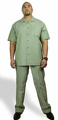 MEN'S TWO-PIECE WALKING SET  CP-94 (SHIRT AND PANTS)