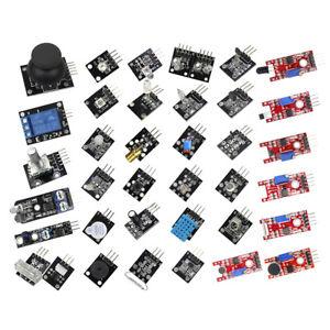 Detalles De 37 Sensor 37 En 1 Sensor Módulos Ultimate Kit Para Arduino Mcu Educación User Ver Título Original