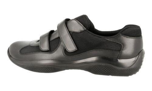 40 Luxus Schwarz 40 Prada Sneaker Schuhe Neu 4p0723 Americas 6 5 Cup wxrTzvCwq
