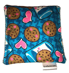 Cookies & Milk Pack Hot Cold You Pick A Scent Microwave Heating Pad Reusable
