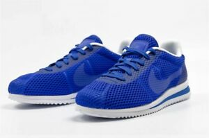 cheap for discount 824fc 0536f Image is loading AUTHENTIC-NIKE-Cortez-Ultra-Breathe-Racer-Blue-White-