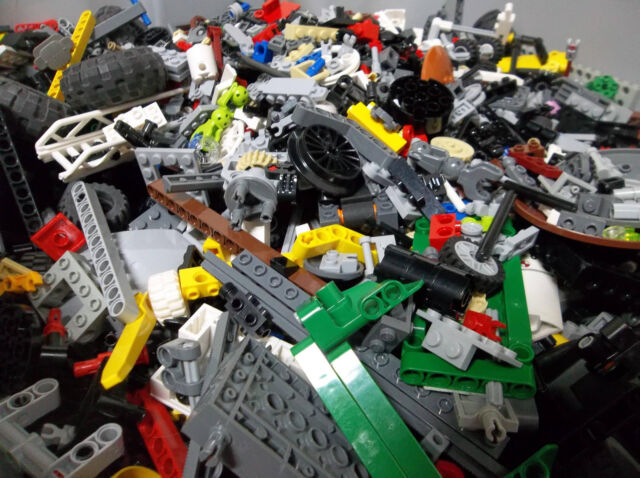 LEGO Bulk lot TECHNIC MINDSTORM PARTS 1lb pound Beams Gear Axle Clean