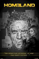 Homeland Prisoner Of War Has Turned 24x36 Tv Poster Claire Danes Damian Lewis
