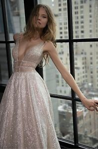 Image is loading Glitter-sparkle-mesh-tulle-wedding-dress-fabric 169d5641676d