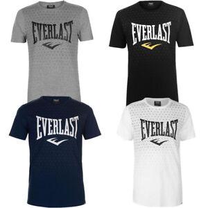 Everlast-Herren-Geo-T-Shirt-S-M-L-XL-2XL-3XL-4XL-Tee-Sport-Shirt-neu