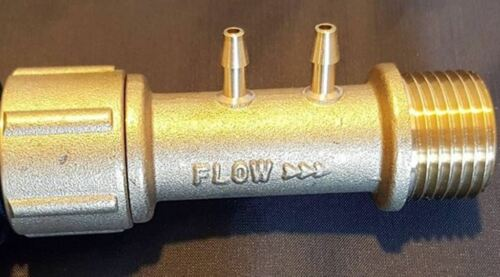 """3060-CG Brass EZ-FLO Fertilizer Injector 3//4/"""" Garden Hose Bib Connector Faucet"""