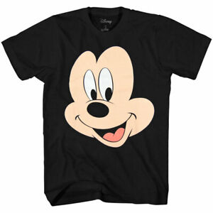 Disney-Mickey-Mouse-Face-Big-Smile-T-Shirt