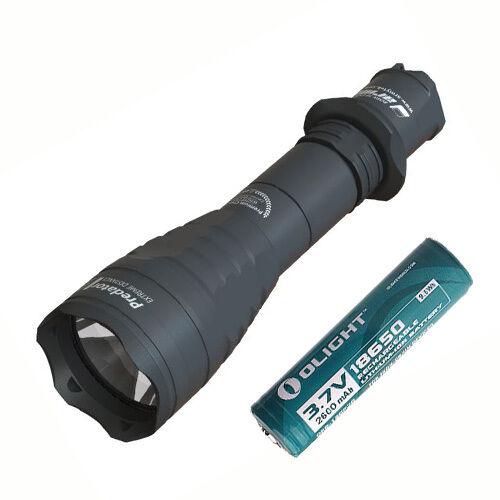 Armytek Predator Pro v3 Flashlight - XB-H (Warm) -Includes 1x 2600mAh Battery