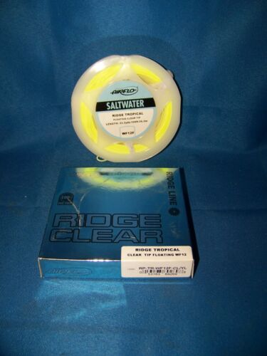 Airflo Ridge Clear Tip Tropical Floating Fly Line WF-6 Thru WF-12 Clear//Yellow