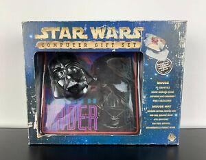 Click-Works-Star-Wars-Computer-PC-Gift-Set-Darth-Vader-Mouse-Pad-Mats