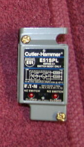Cutler Hammer Switchbody E51SPL