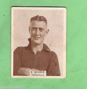 LARGE-SIZE-1933-VFL-WILLS-CIGARETTE-CARD-179-E-BOURKE-YARRAVILLE