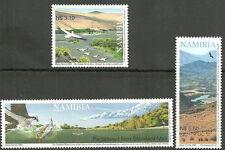 Namibia - Perennierende Flüsse Satz postfrisch 2006 Mi.1206-1208