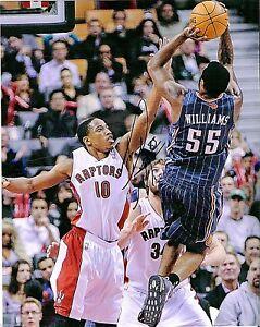 Reggie Williams Charlotte Bobcats Signed Autographed 8x10 Photo LOM COA PH3940