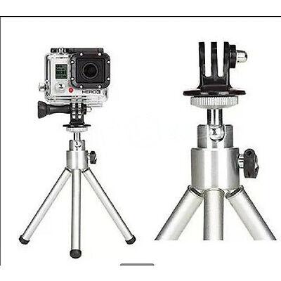 Free Tripod Monopod Mount Adapter For GoPro HD HERO 1 2 3 4 Camera Accessories