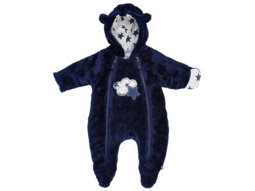 "Jacky Baby Winter Overall /""Cloud /&Star /"" Junge H//W 17//18 Plüsch blau Gr 50-86"