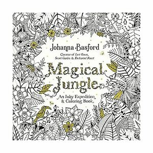 Image Is Loading Magical Jungle An Inky Expedition And Coloring Book