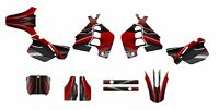 Cr 500 Graphics Decal Kit For Honda Dirt Bike 3333 Red Free Customization