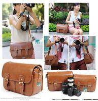 Vintage DSLR camera bag Canon 600D ZKIN Nikon D4 D800 D700 D7000 D3100 1 J1