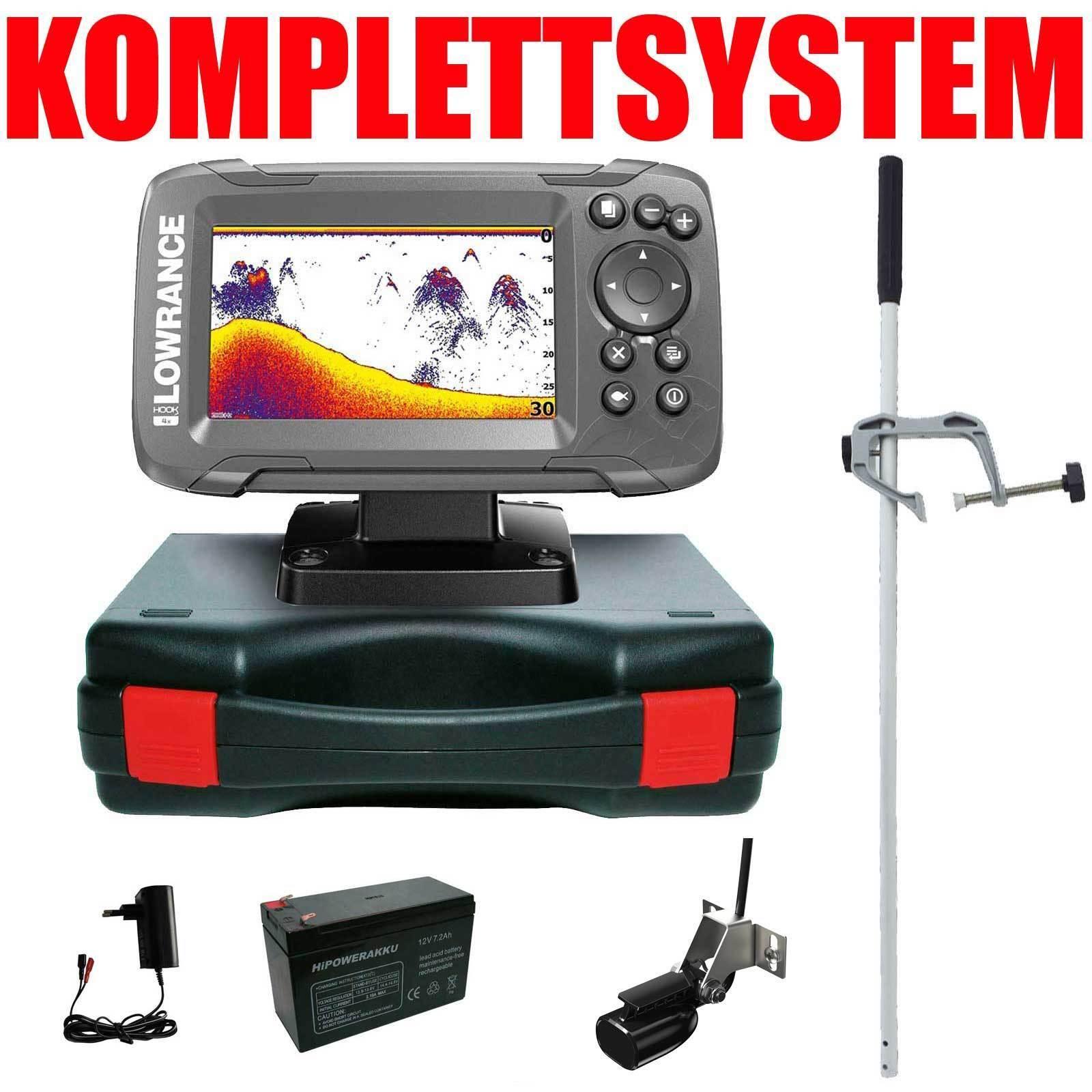 Pescado de sonar Lowrance Finder portable principal sistema completo de edición Hook2 4 x.