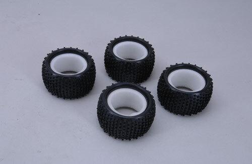 Rage Z-XTM3831 XTM Racing Tyres w//Inserts-Pins Pk4