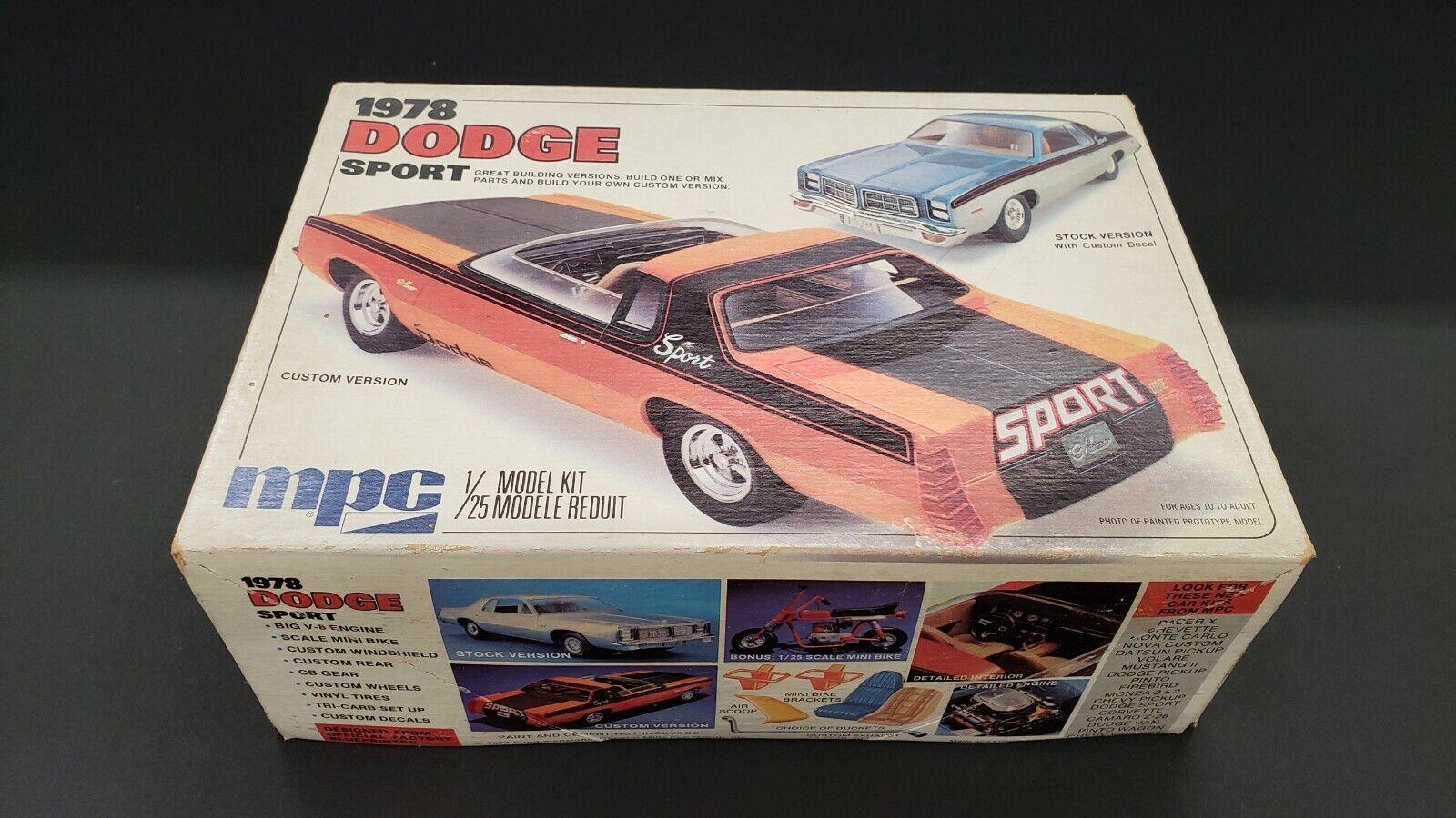 MPC 1978 1978 1978 Dodge Movement Edition 1   25 86f