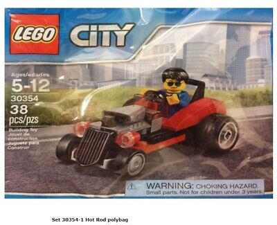 Lego City Hot Rod 30354 Polybag NEW//SEALED