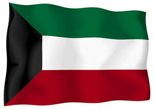 Sticker-decal-vinyl-decals-national-flag-car-kuwait-kuwat-luggage-ensign-bumper