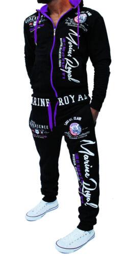 Men/'s Tracksuit Jogging Pants Jacket Trackies Sport Pants Fitness New a.Marine