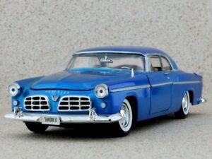 CHRYSLER C 300 - 1955 - bluemetallic - MotorMax 1:24