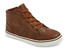 New Cat /& Jack Florian Mid Top Sneakers Brown Youth Boys/' Choose Size
