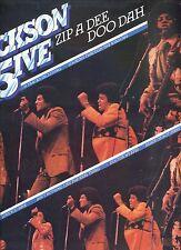 JACKSON FIVE zip a dee doo dah UK EX LP MICHAEL JACKSON