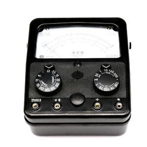 Mf500 multímetro analógico medidor de voltios amperios Ohm 2500v 20hm 500ma 1510198